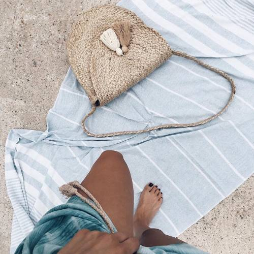 Jute Bag With Tassels