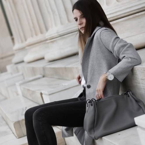 ONLY Carrie Bonded Grey Coat